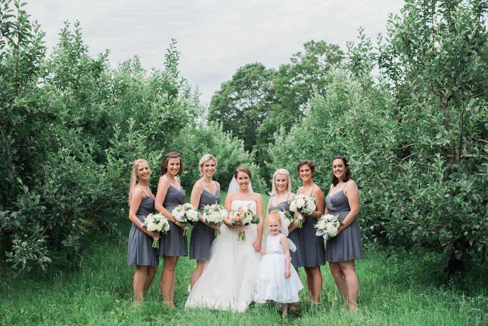 Apple Orchard Wedding Photography
