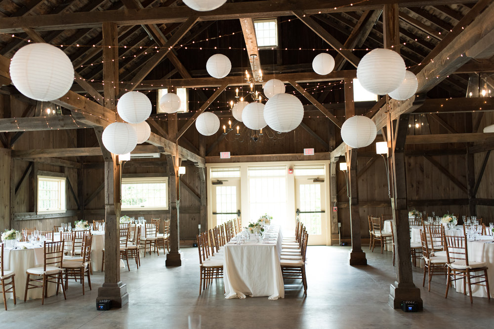 Barn Wedding Venues in Massachusetts