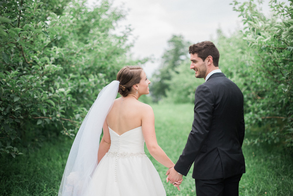 Weddings at Quonquont Farm in Whately