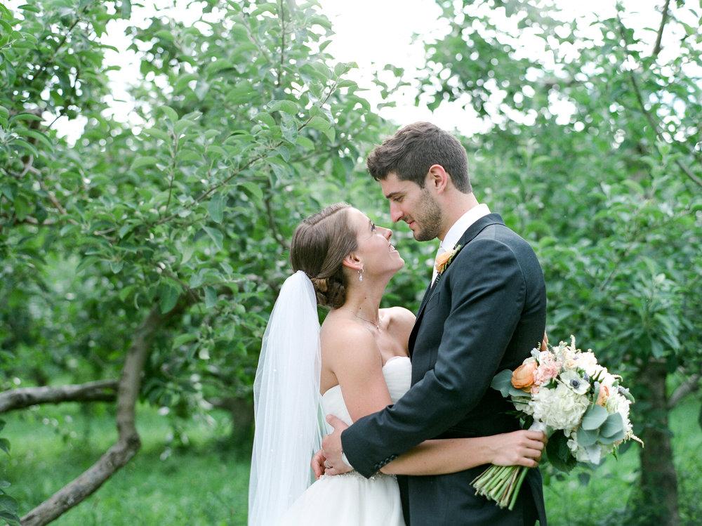 Apple Orchard Wedding in Massachusetts