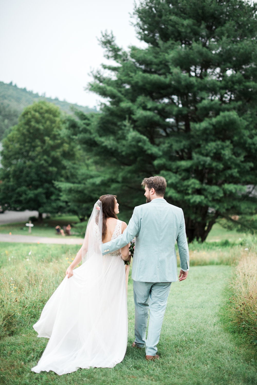 Wedding at Montague Retreat Center