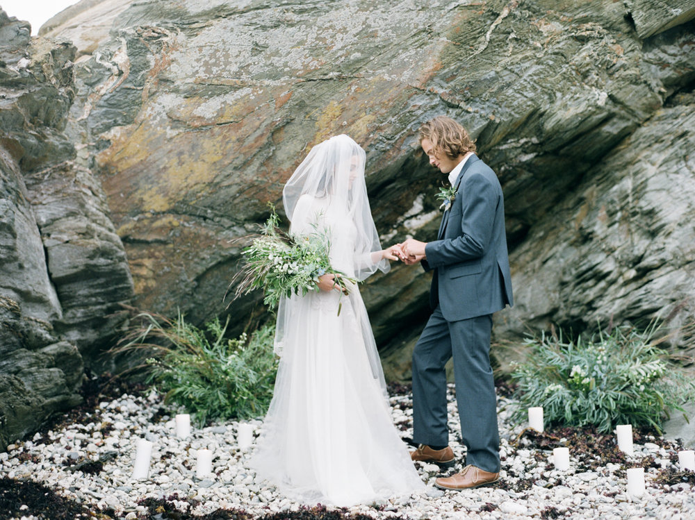 Beach Wedding in Rhode Island