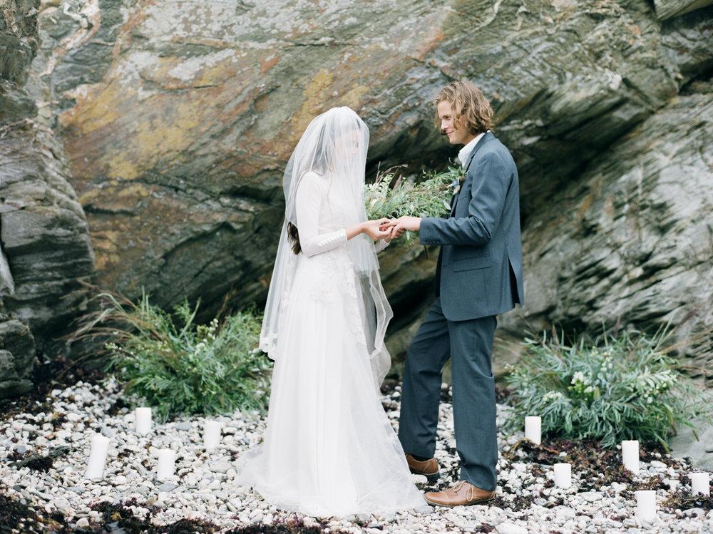 Beach Wedding in Cape Cod