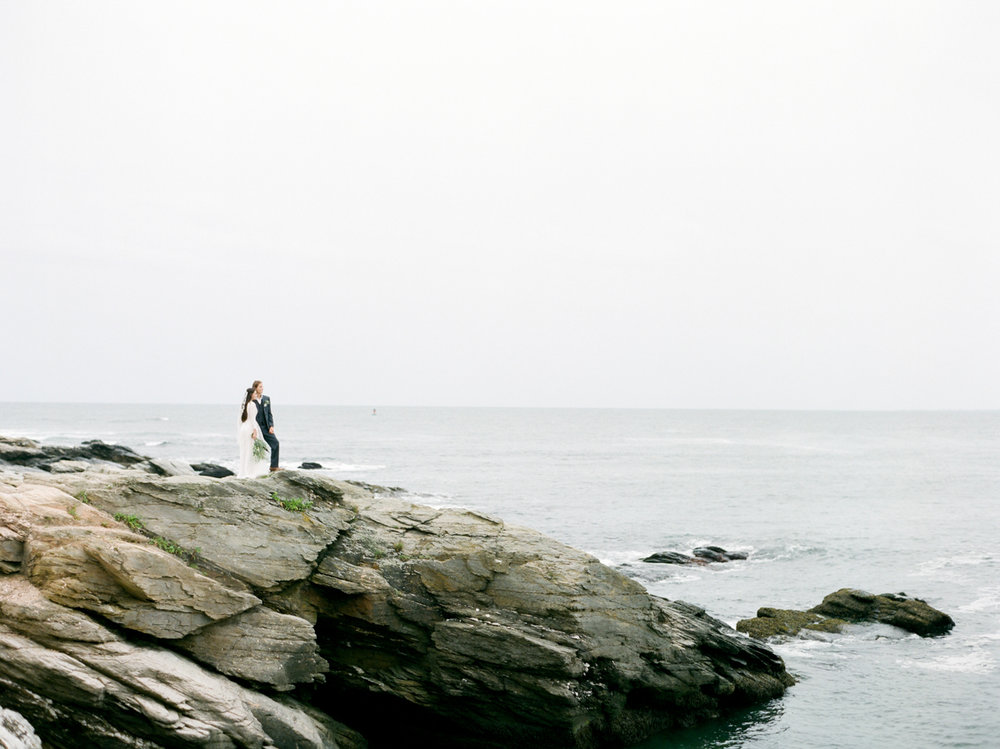 Beach Wedding Photography in Rhode Island