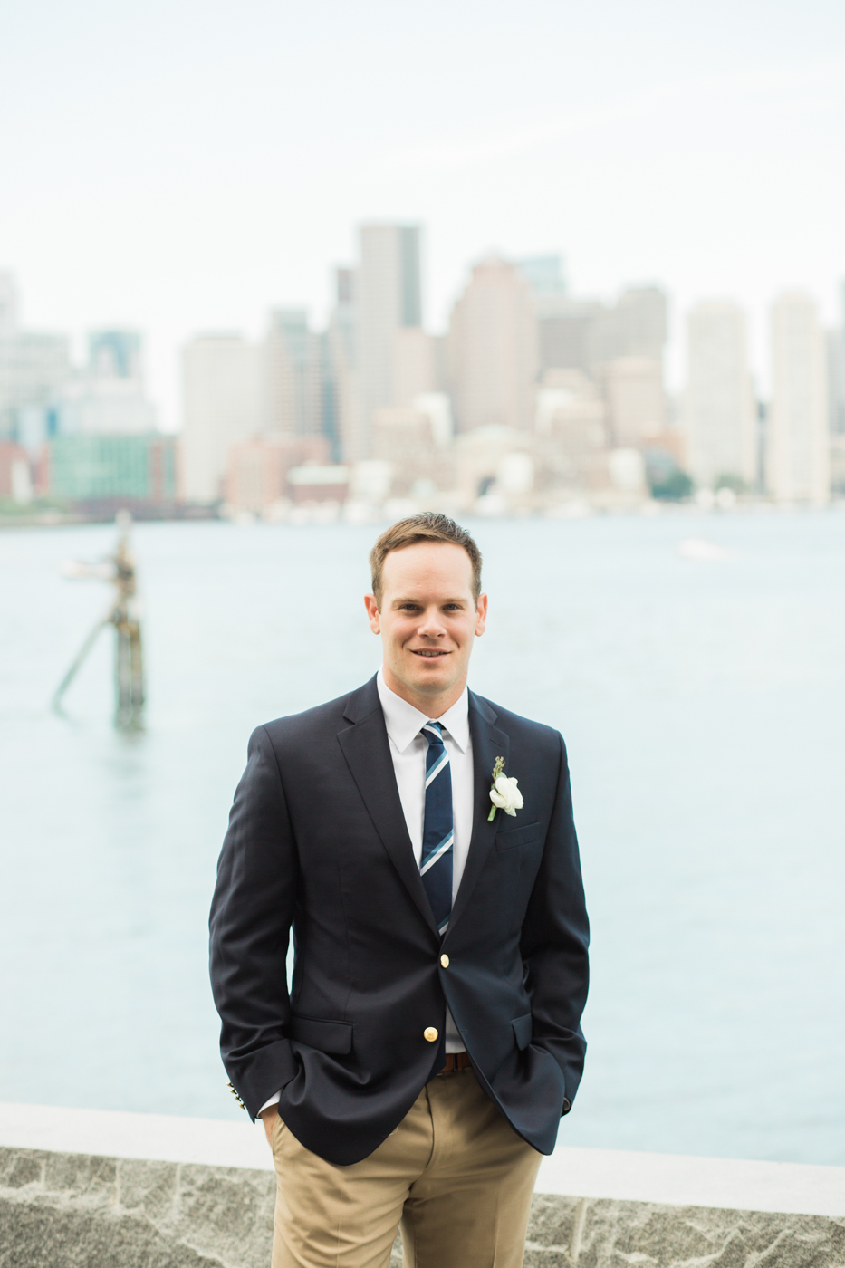 Boston Harbor Wedding