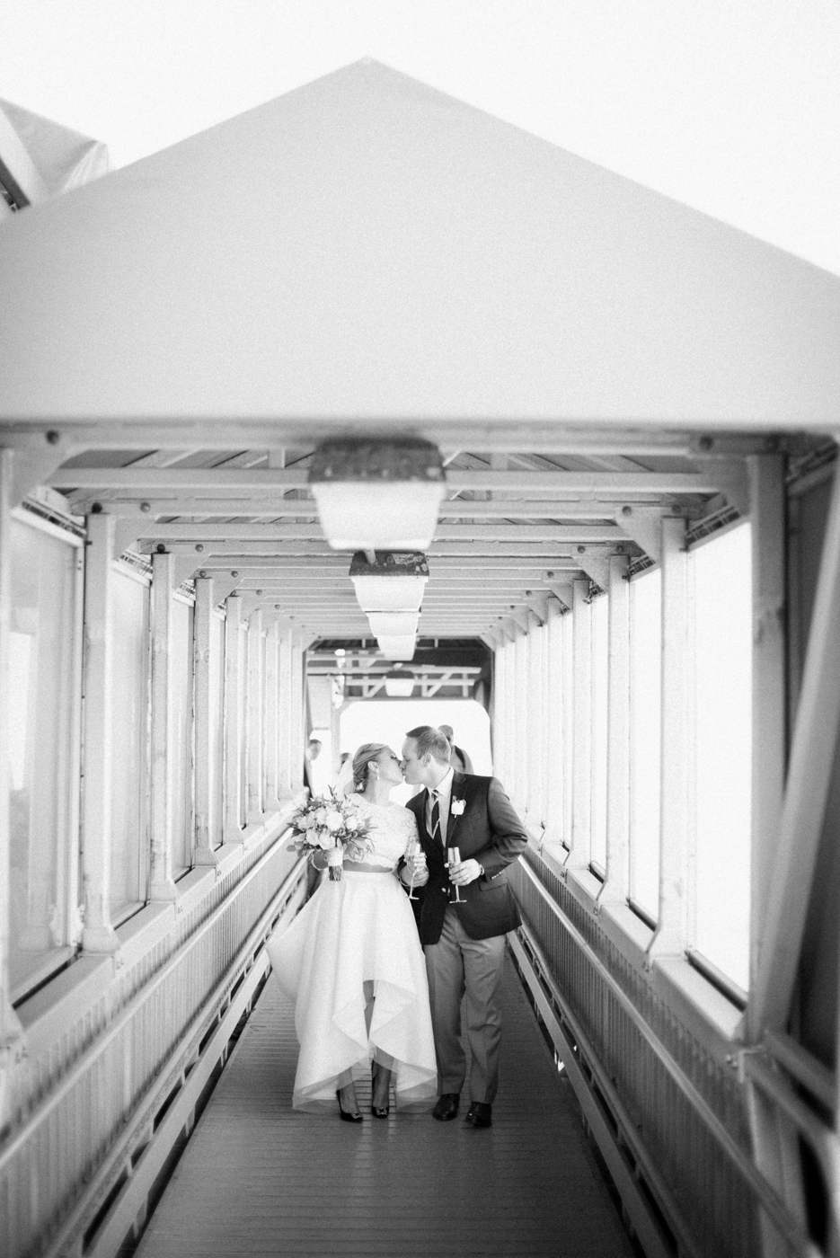 Wedding on the Spirit of Boston