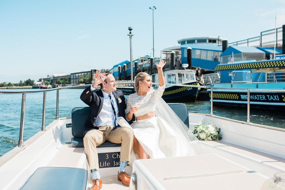 Boston Harbor Cruise Wedding