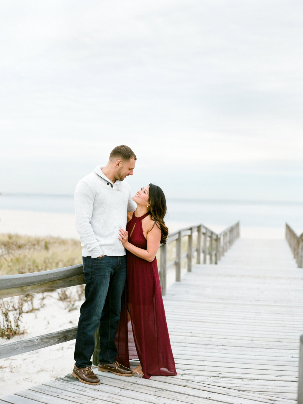 Fine Art Couples Portraits at Crane Estate