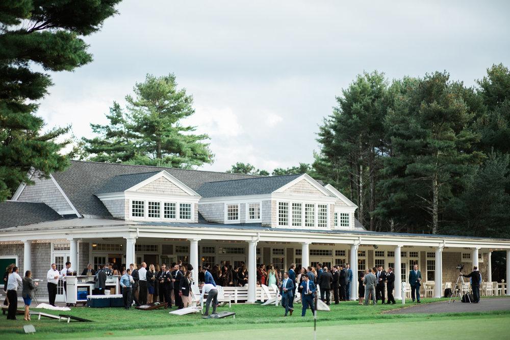 Pine Hills country club wedding