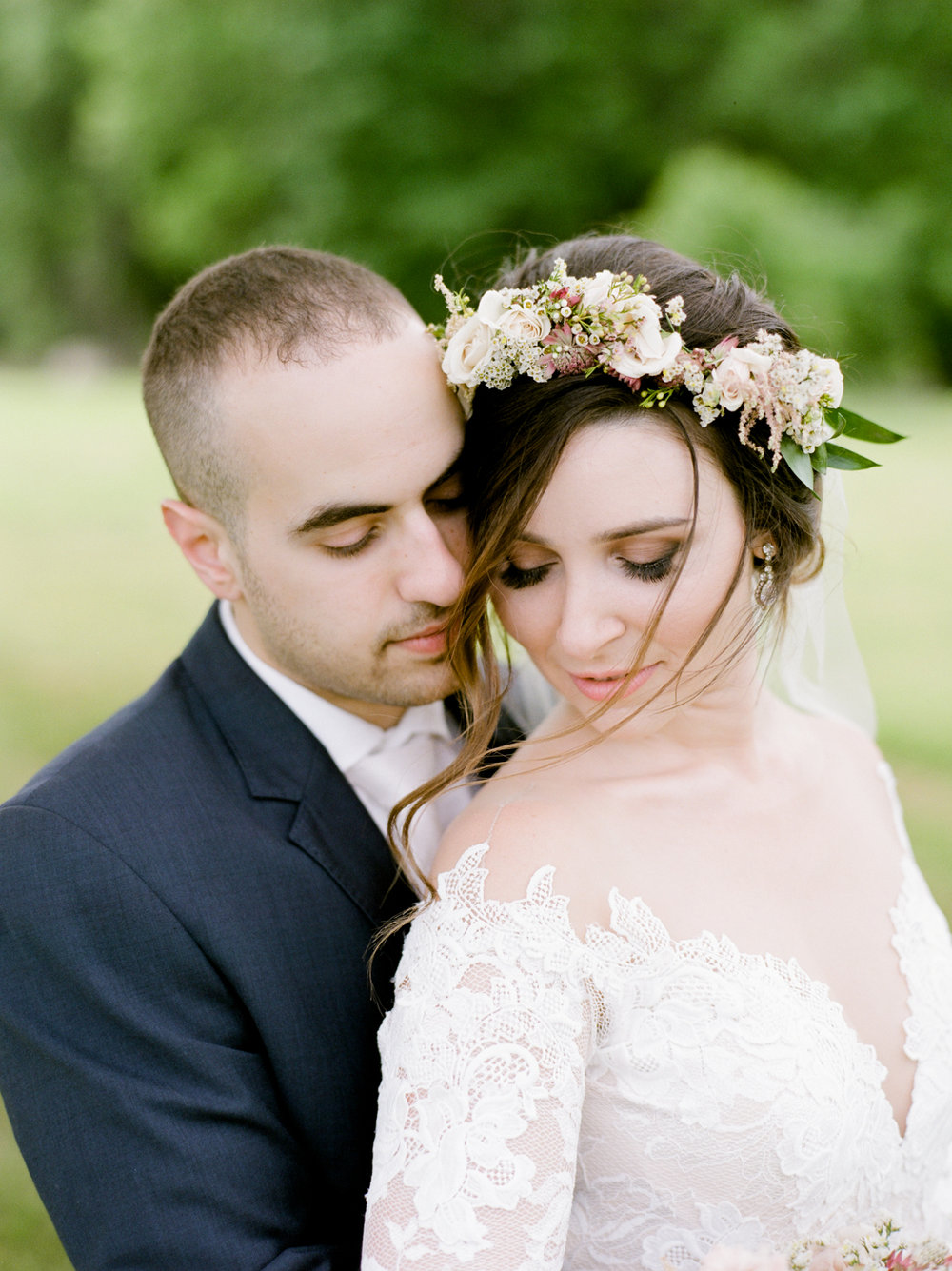 Fine art wedding photographer in Western MA