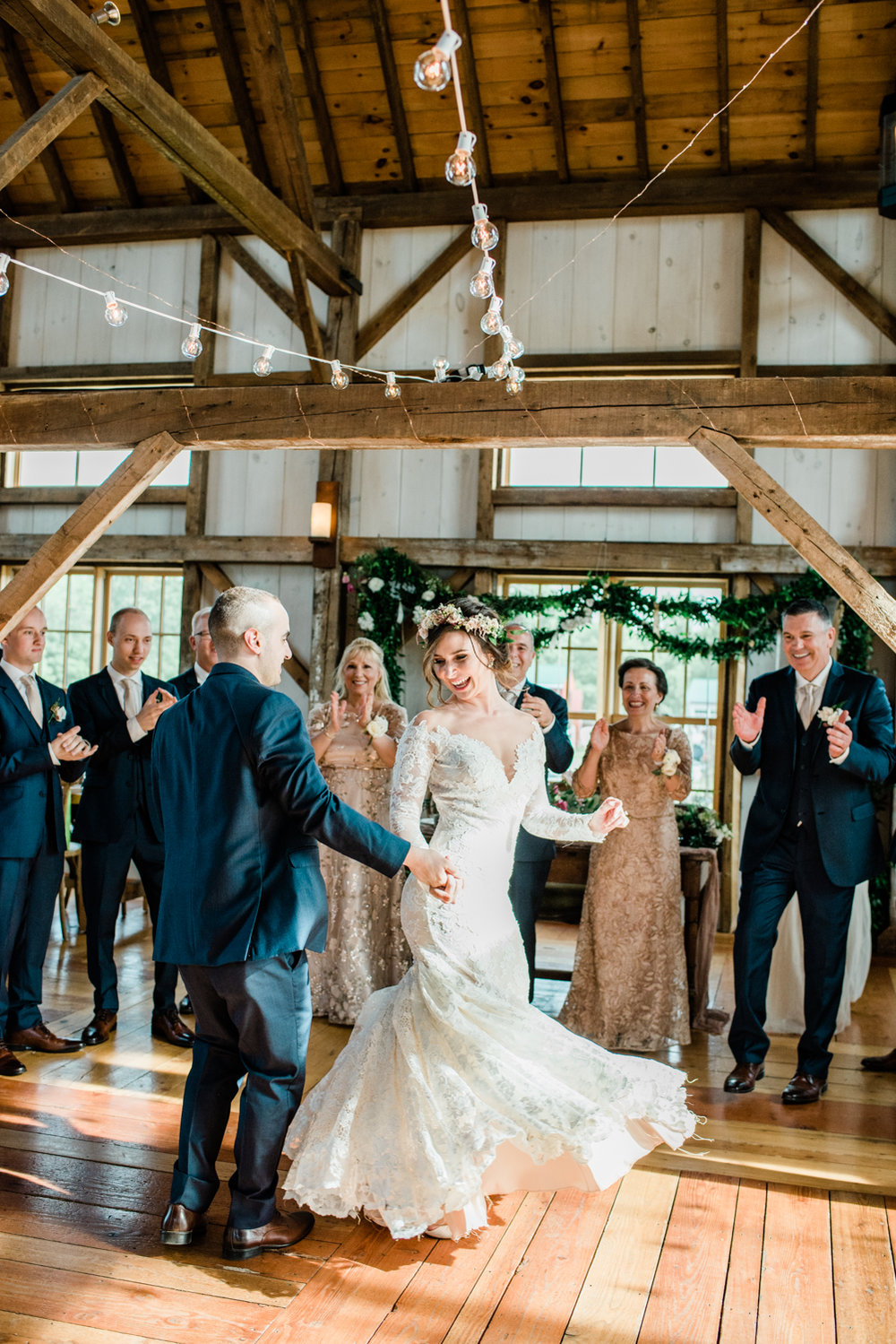 Barn Reception in Western Mass