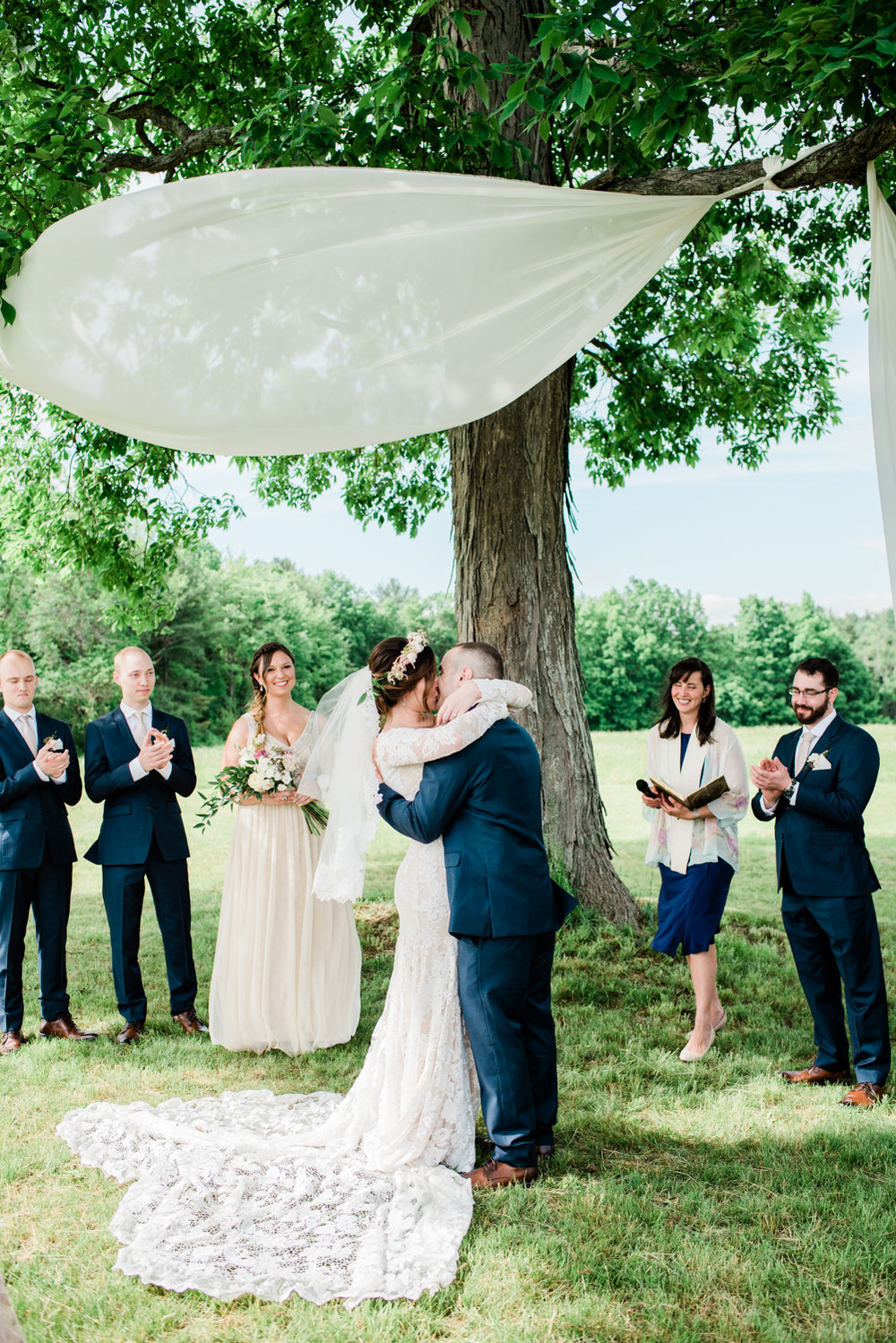 Elegant Farm Wedding in Western Mass