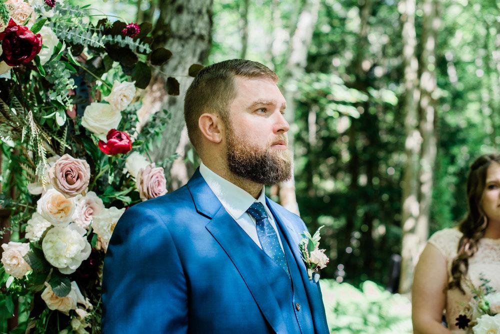 Backyard Wedding in Stockbridge MA