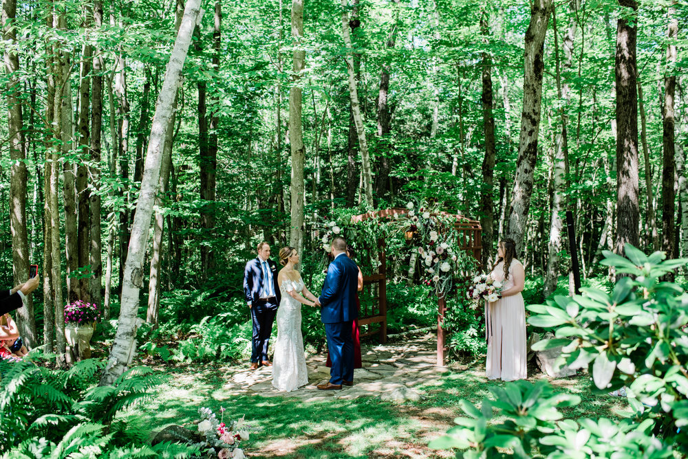 Great Barrington Backyard Wedding