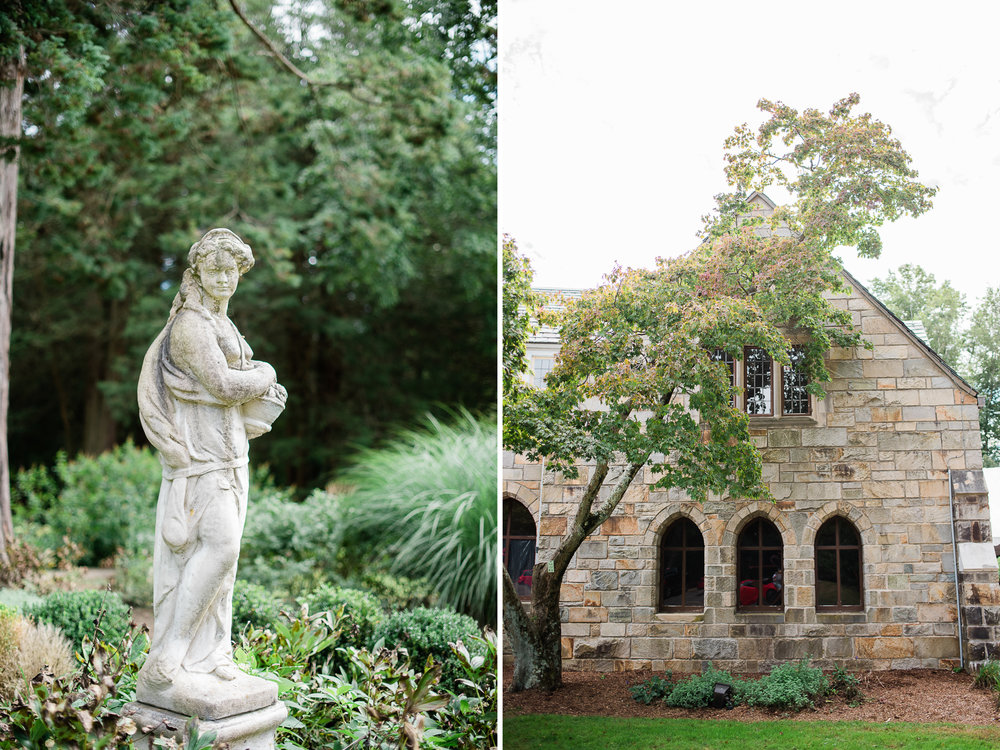 Wedding At Gallaher Mansion in Cranbury Park