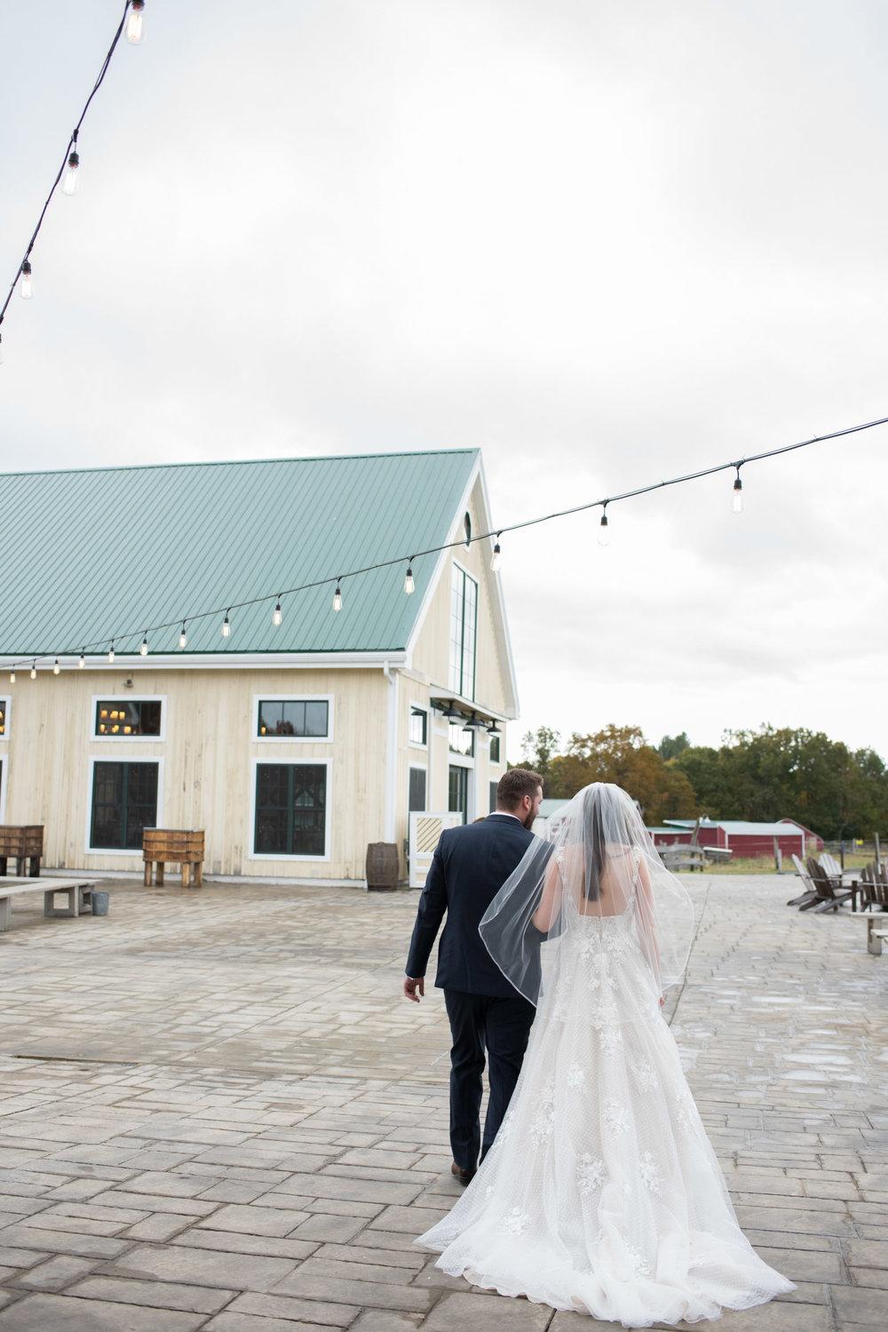 Valley View Wedding in Autumn