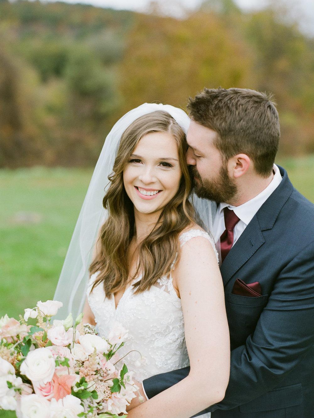 Autumn New England Wedding in Northampton MA