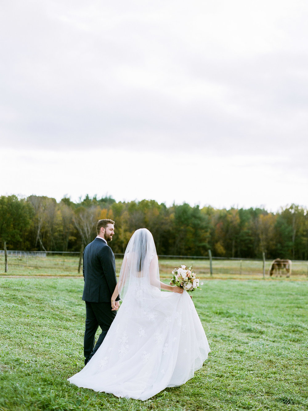 Light and Airy Wedding Photographers in Western MA