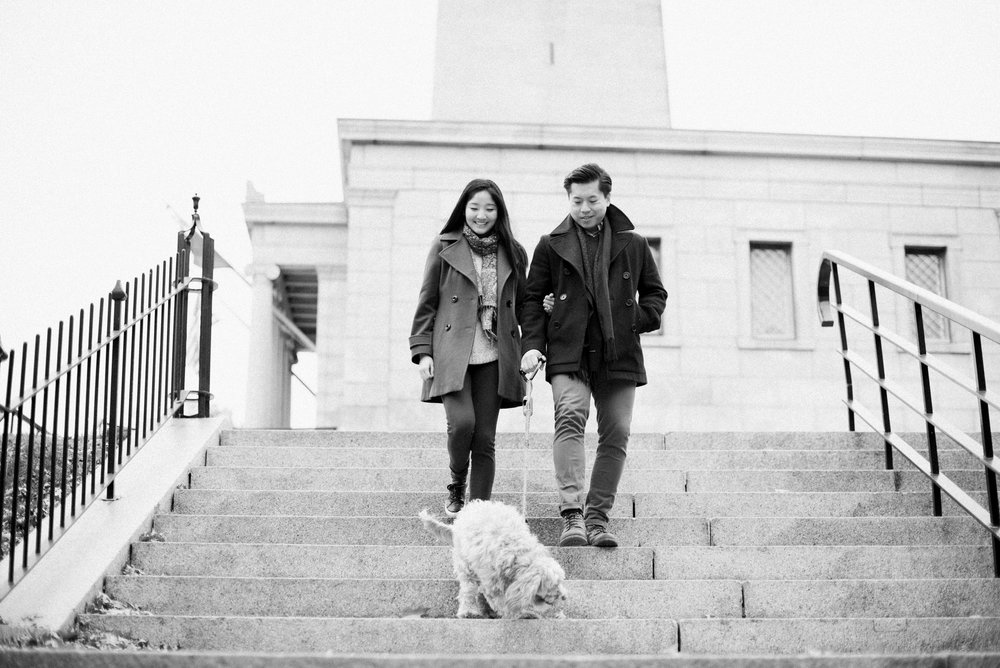 Engagement Session in Charlestown