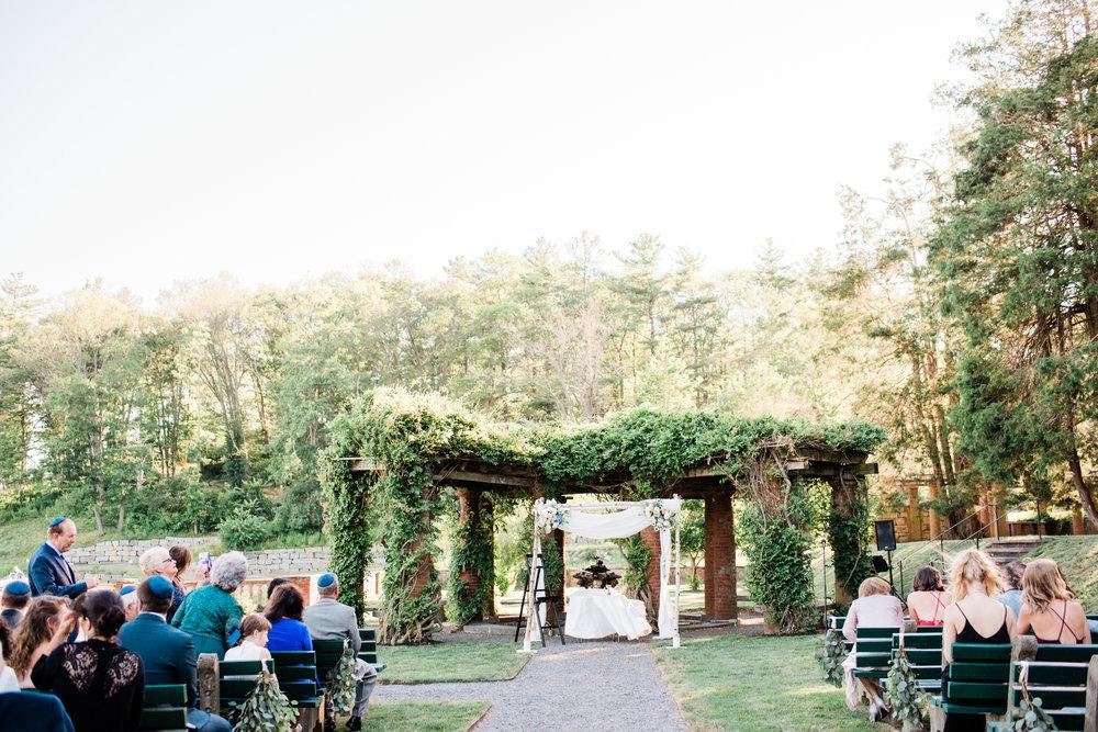 Garden Ceremony In Eastern Massachusetts