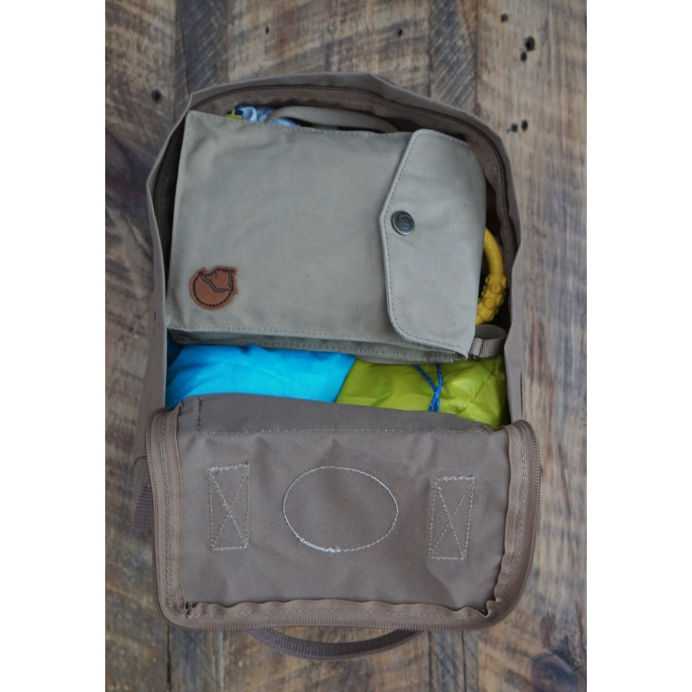 kanken mini as diaper bag
