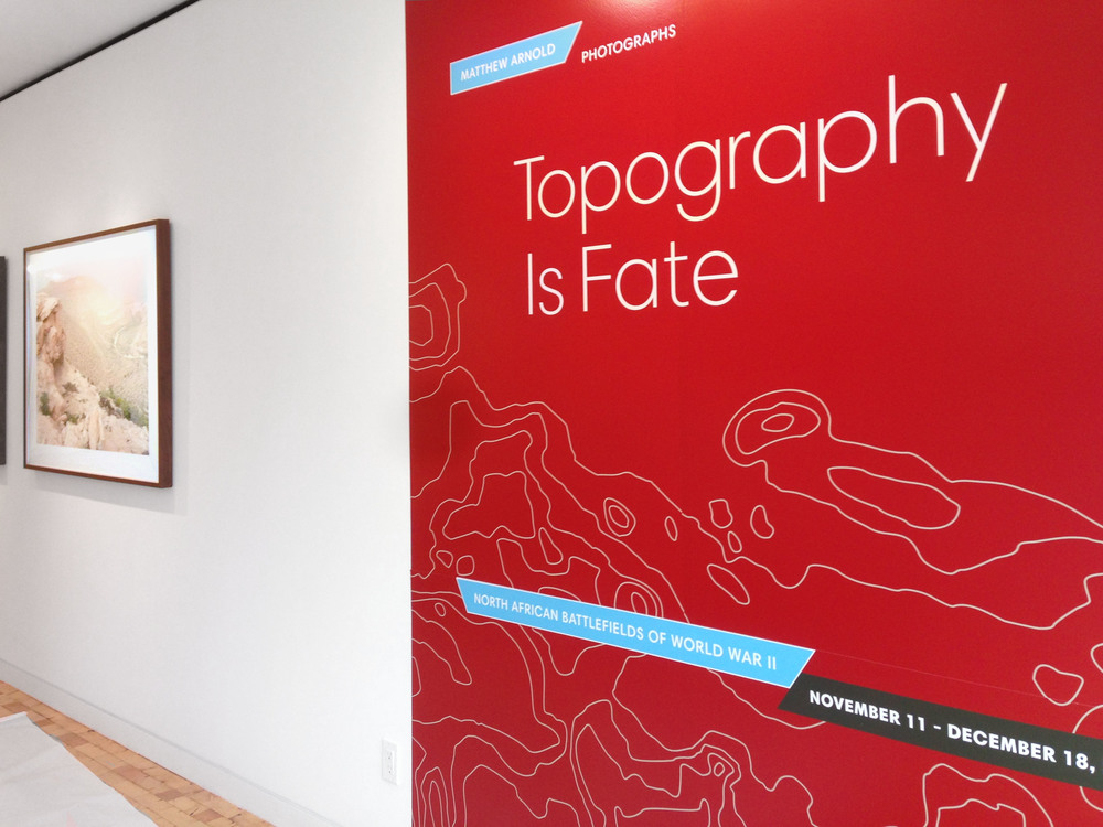 No exhibit is complete without a well designed title wall.