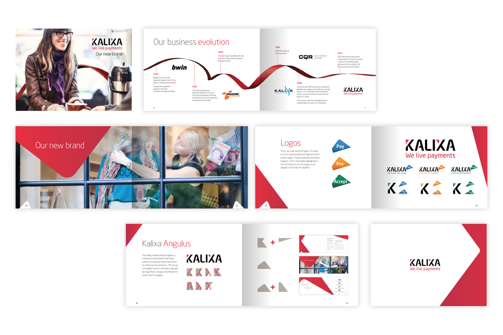 Kalixa – Mini brand book