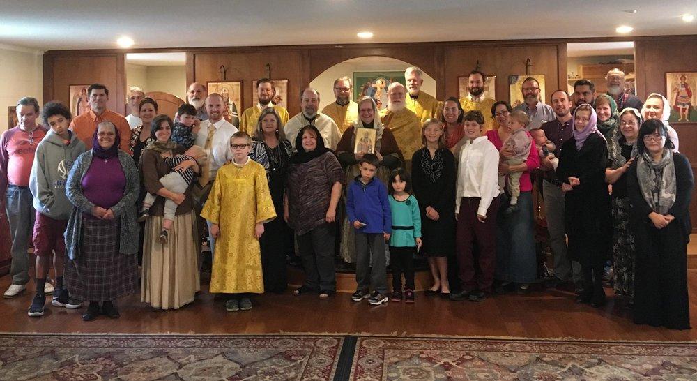 St Tikhon Parish Family 2017