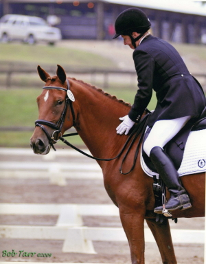 Cindy Fisher and Zelena   USDF 2010 Rider Performance Award Recipient