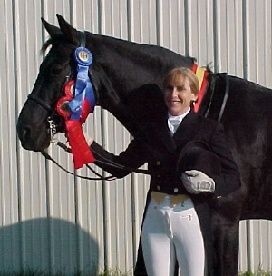 Jane and Roberto   USDF All Breeds Reserve Champion Intermediare I Waterloo Reserve Grand Champion Prix St. George
