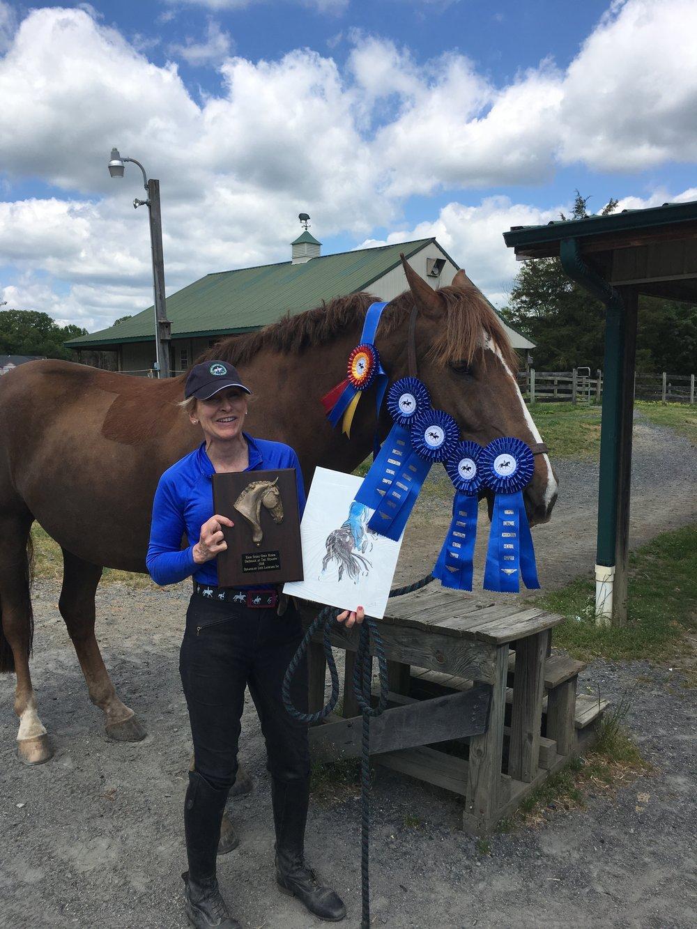Odie's Meadow Hi Point awards