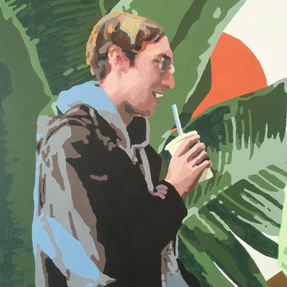 Man With Soda