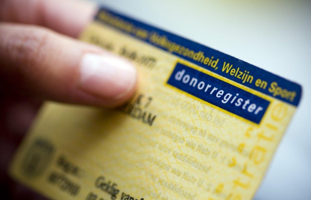 Red een leven in 5 minuten op donorregister.nl