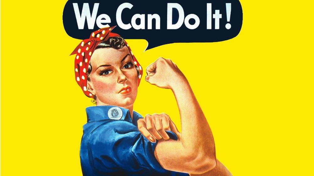 Wij reclamevrouwen eisen.