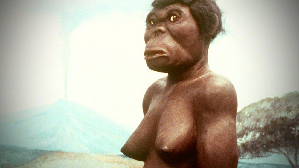 De oermens Lucy, drie miljoen jaar geleden.