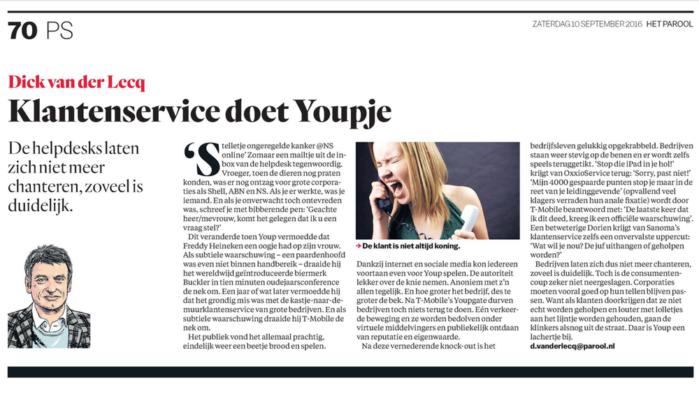 Het Parool, Adformatie en MarketingTribune