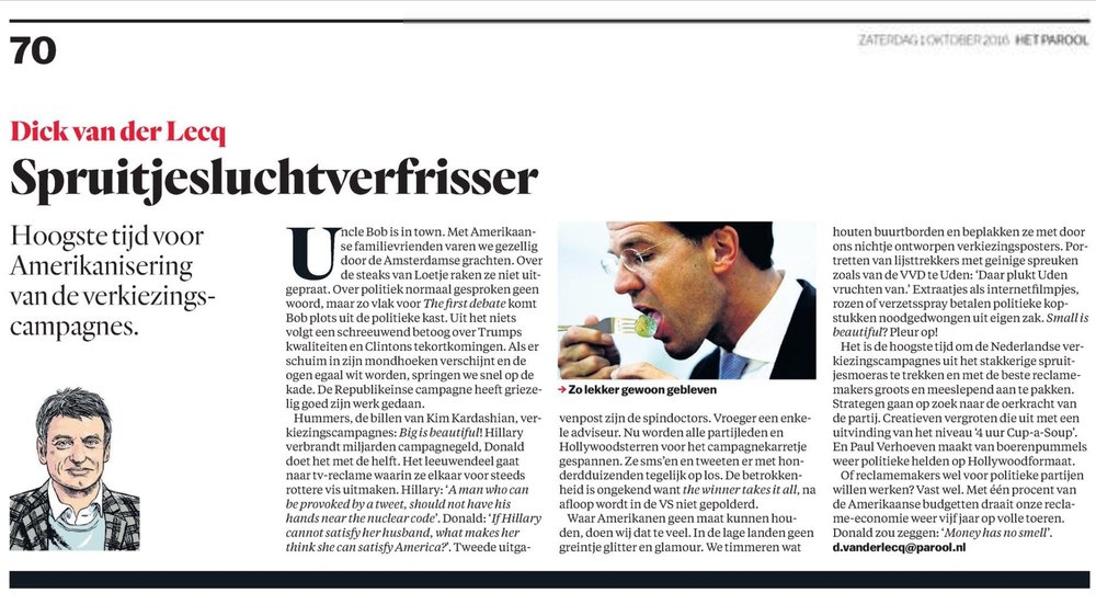 Het Parool, Adformatie, MarketingTribune