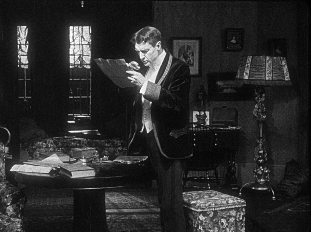 American thespian William Gillette sleuths away in Arthur Berthelet's long-lost Sherlock Holmes (1916)
