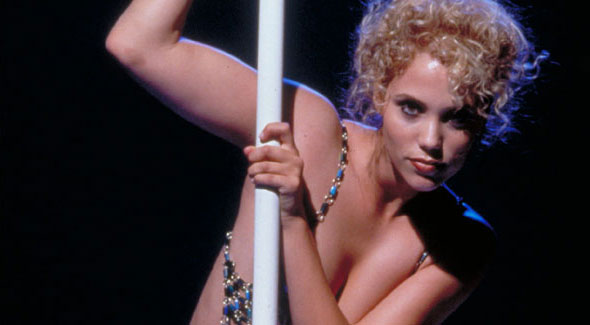 Elizabeth Berkley in the airbrushed world of Paul Verhoeven's Showgirls