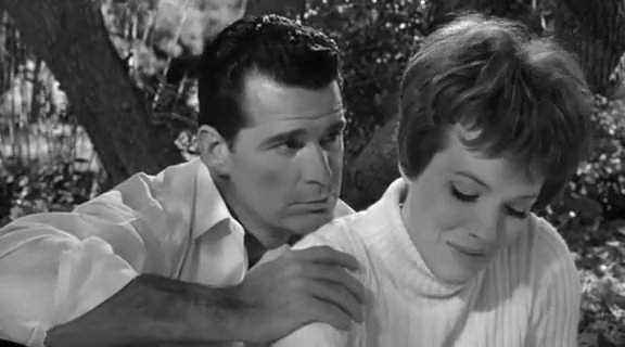 The Americanization of Emily stars Julie Andrews as military chauffeur Emily Barham and James Garner as Lt. Commander Charles Madison