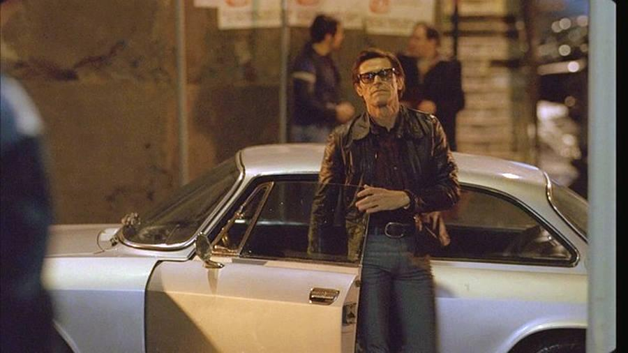 Willem Dafoe as Pier Paolo Pasolini in Abel Ferrara's unconventional biopic, Pasolini