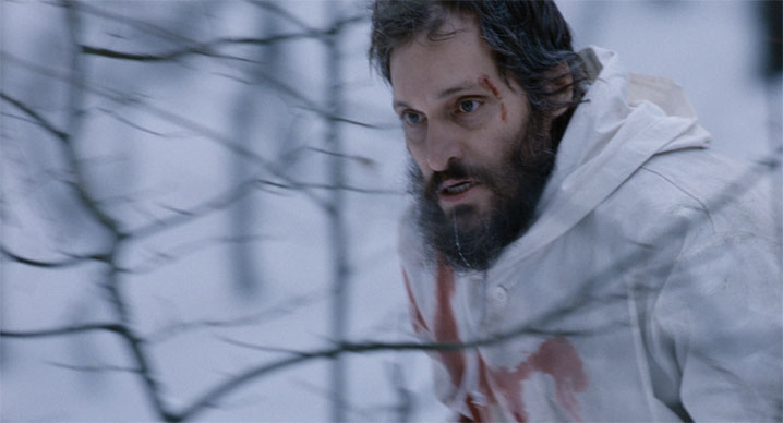 Vincent Gallo in Essential Killing.