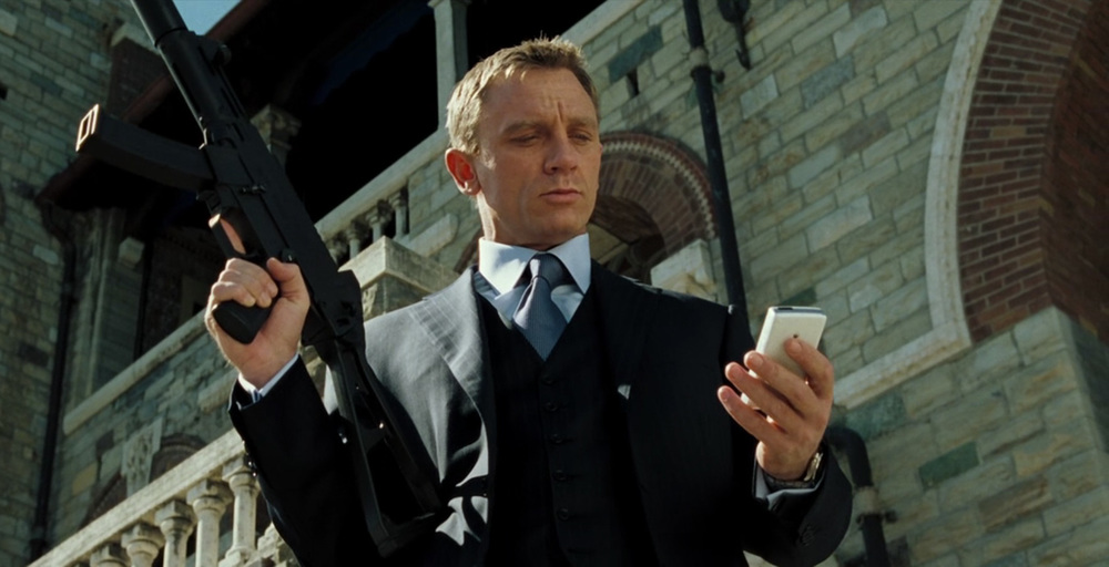 Daniel Craig in 2006's Casino Royale