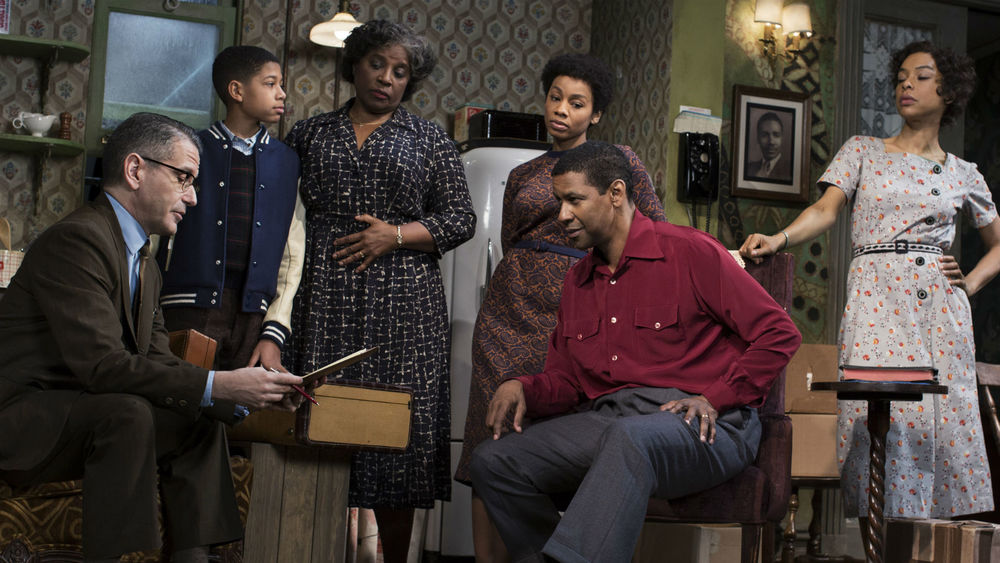 Denzel Washington in A Raisin in the Sun