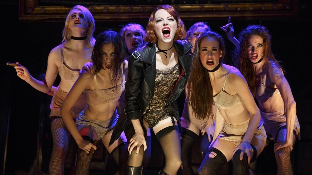 Emma Stone in  Cabaret