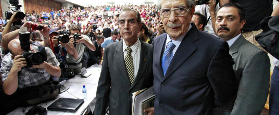 Former military dictator José Efraín Ríos Montt faces Guatemalan justice in  The Good Christian .
