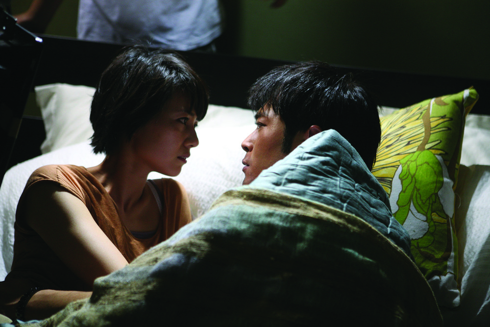 Sean (Louis Koo) and Chi-Yan (Gao Yunyuan) in Don't Go Breaking My Heart