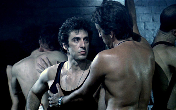 Al Pacino plays Steve Burns, a rookie cop who goes undercover as a denizen of New York City's gay S&M scene