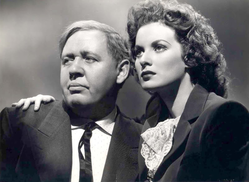 Set in an unspecified Nazi-occupied country, This Land is Mine stars Charles Laughton as Albert and Maureen O'Hara as Louise