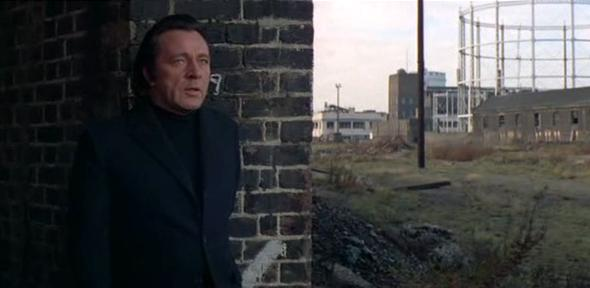 Richard Burton as Vic Dakin in  Villian